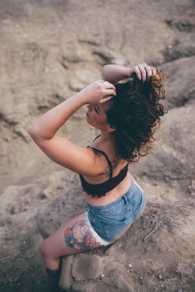 #3 Bralette + Shorts