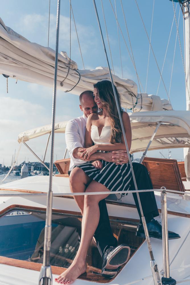 Engaged Couple Marina