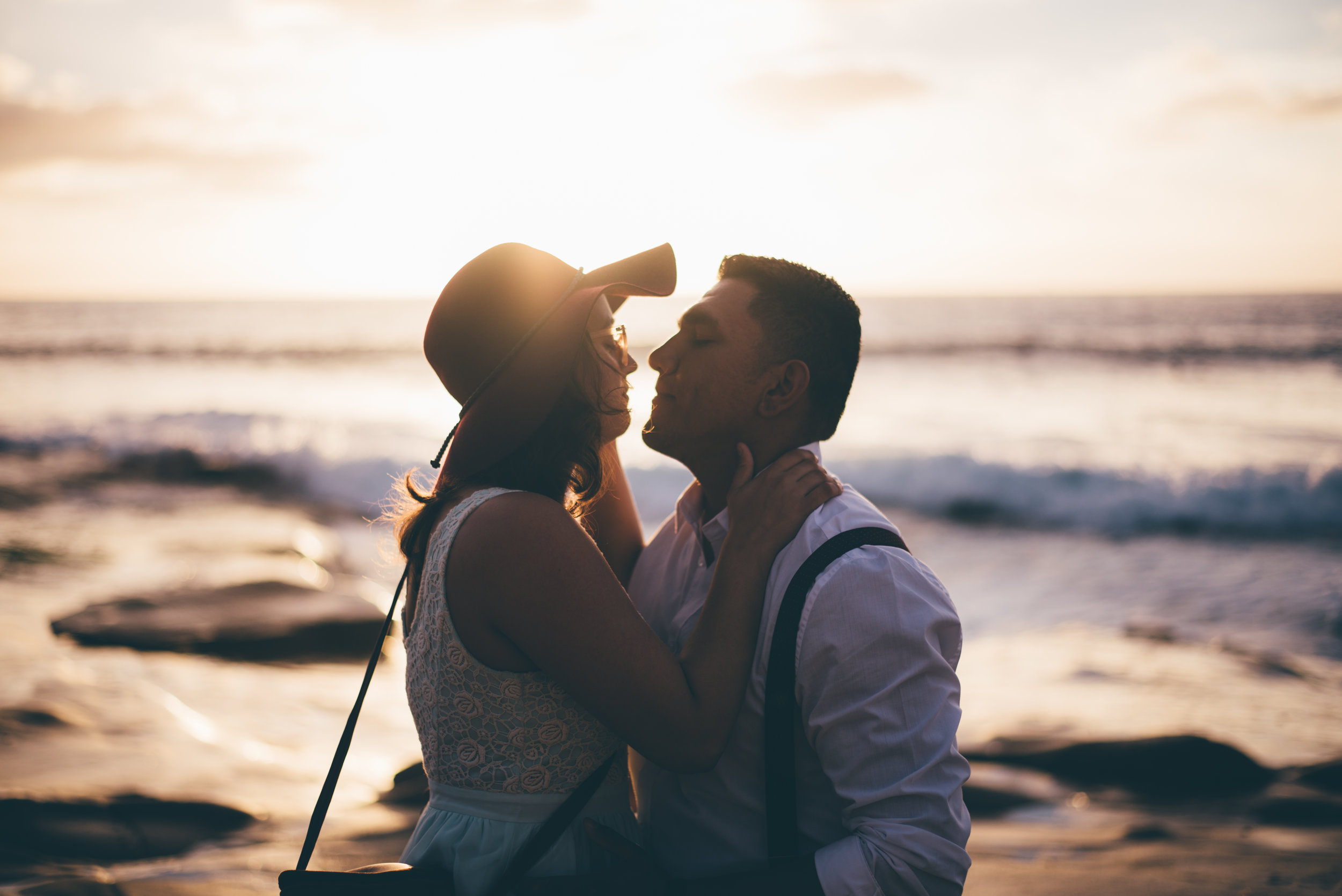 Beach Engagement by Debra Alison Photography