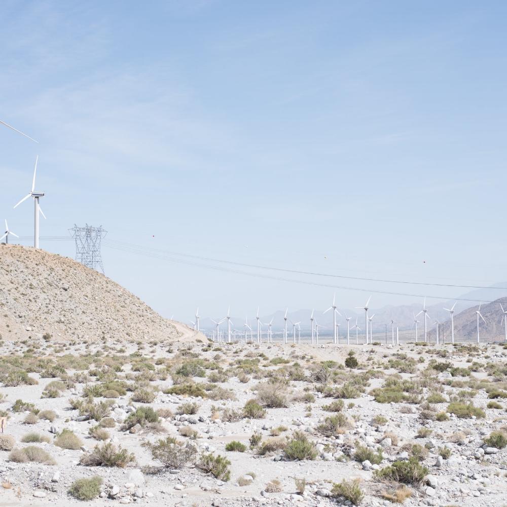 Desert Windmills by Debra Alison Photography
