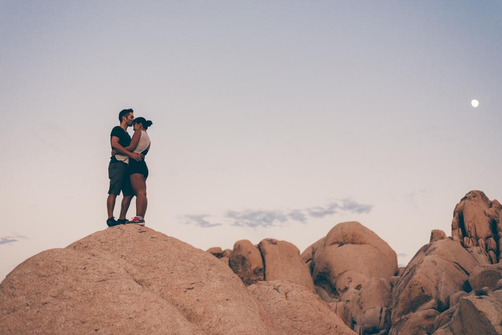 Debra Alison Joshua Tree Couples Adventure Photography
