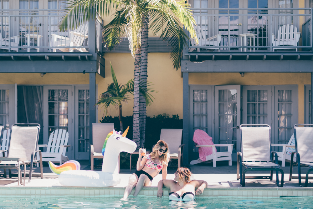 Pool Vibes Lafayette Hotel by Debra Alison Photography