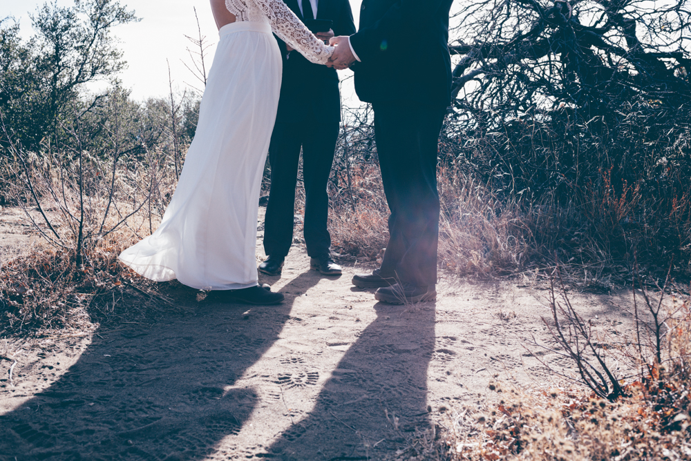 Mt Laguna Julian Mountain Elopement by Debra Alison Photography