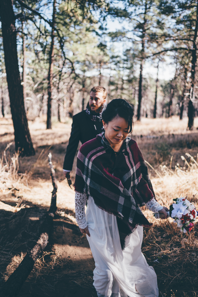 Adventurous Mt Laguna Elopement by Debra Alison Photography