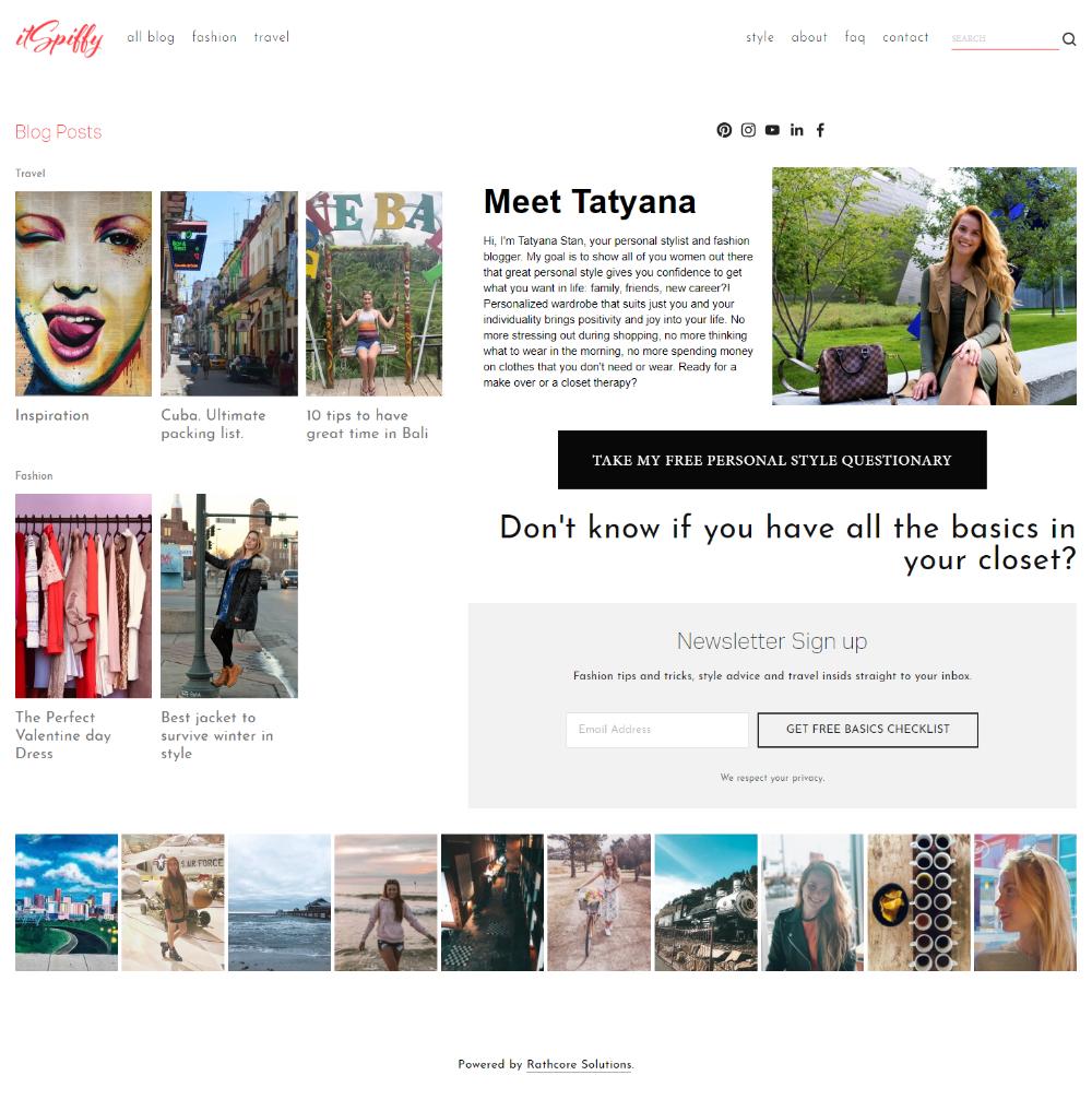 itSpiffy Website