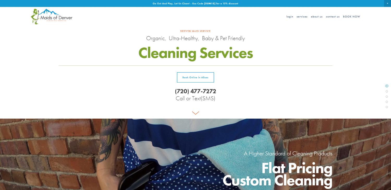 Maids Of Denver Website