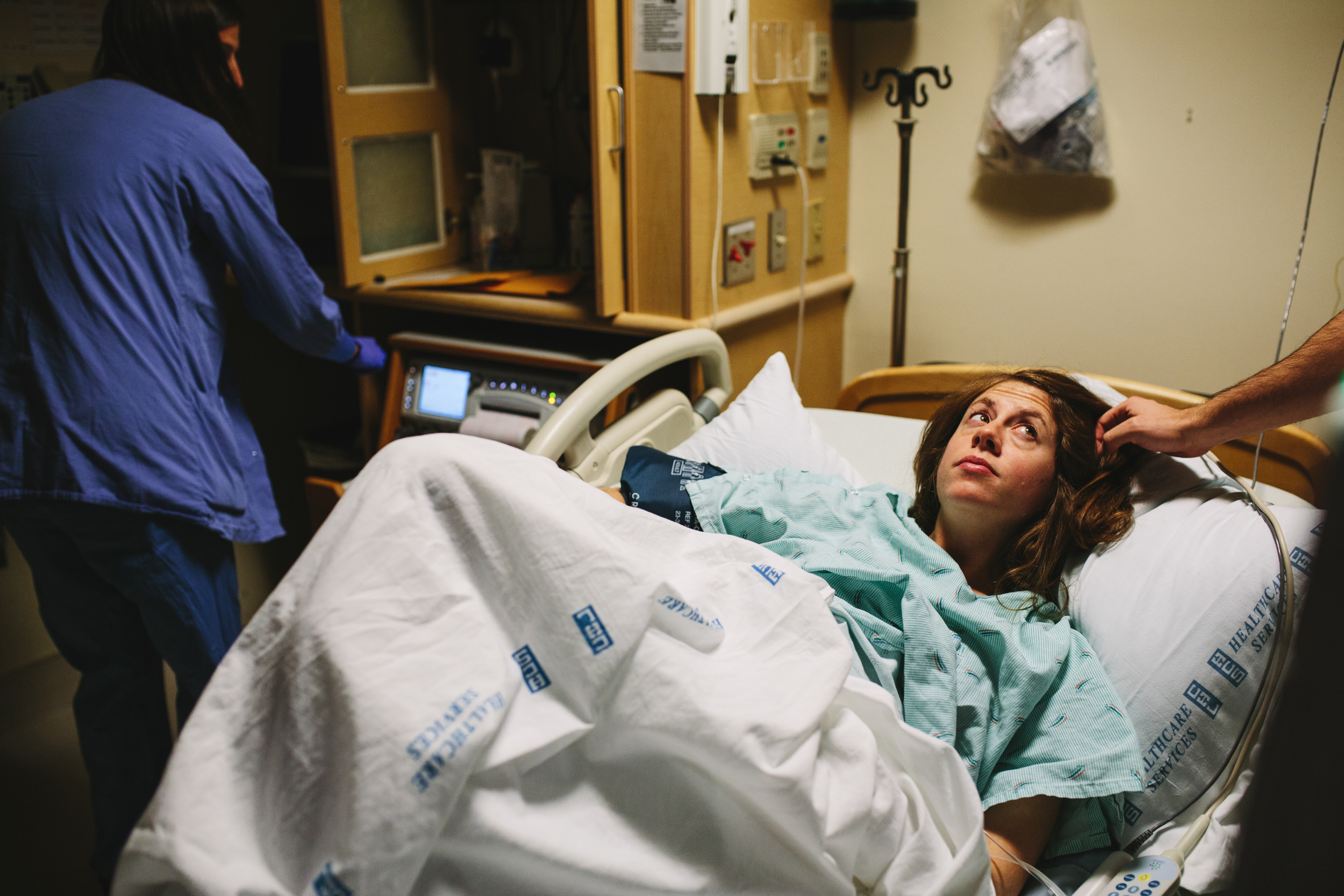 I arrived at the hospital around 11:30pm, and Ingrid had just begun to go into labor proper.