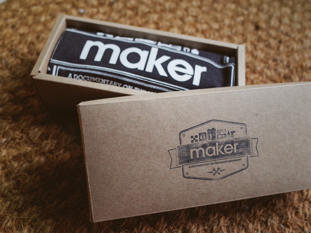 Maker Movie T-shirt (only S) $29.99