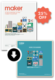 """""""Maker"""" + """"Music For Makers""""   Movie and soundtrack bundle    25% off"""