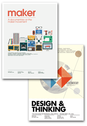 """""""Maker"""" + """"Design & Thinking"""" Two movies DVD bundle $45.99"""