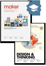"""Maker"" + ""Design & Thinking"" Educational DVD bundle $499"