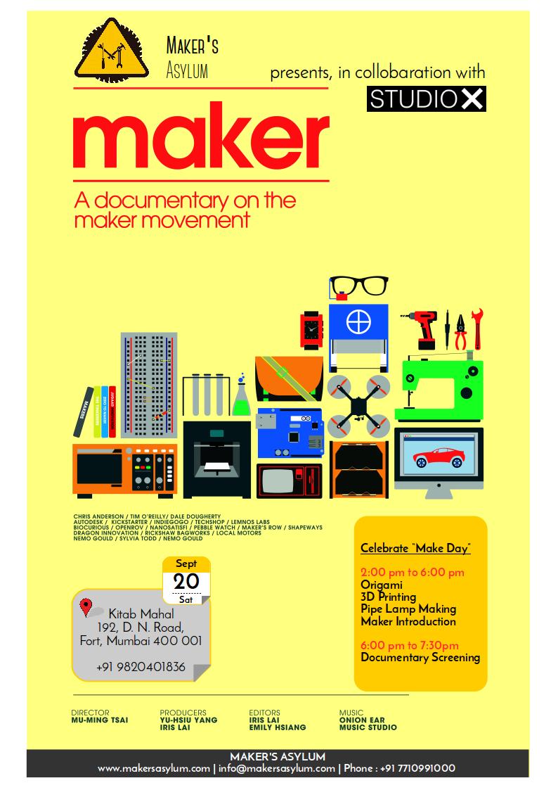 Maker's Asylum Mumbai, India