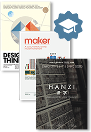 "The Design Series - ""Design & Thinking"" + ""Maker"" + ""Hanzi"" Educational DVD bundle $699"