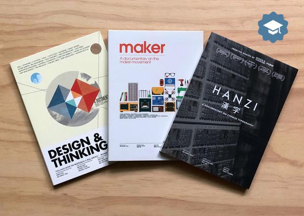 The Design Series 設計三部曲DVD(教育版)- 《設計與思考》 + 《自造世代》 + 《漢字》新台幣21000