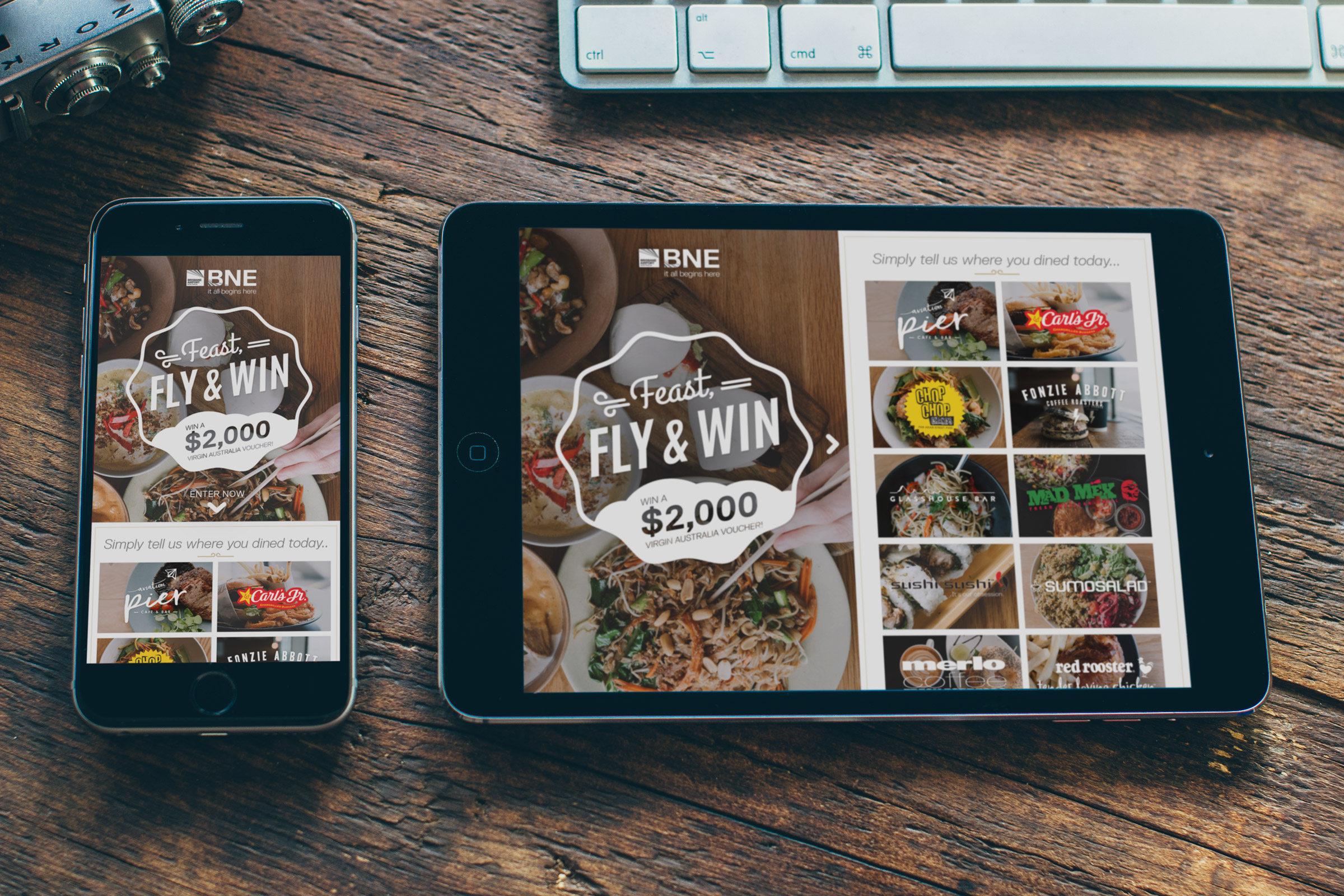 Brisbane Airport Corporation - Feast, Fly & Win
