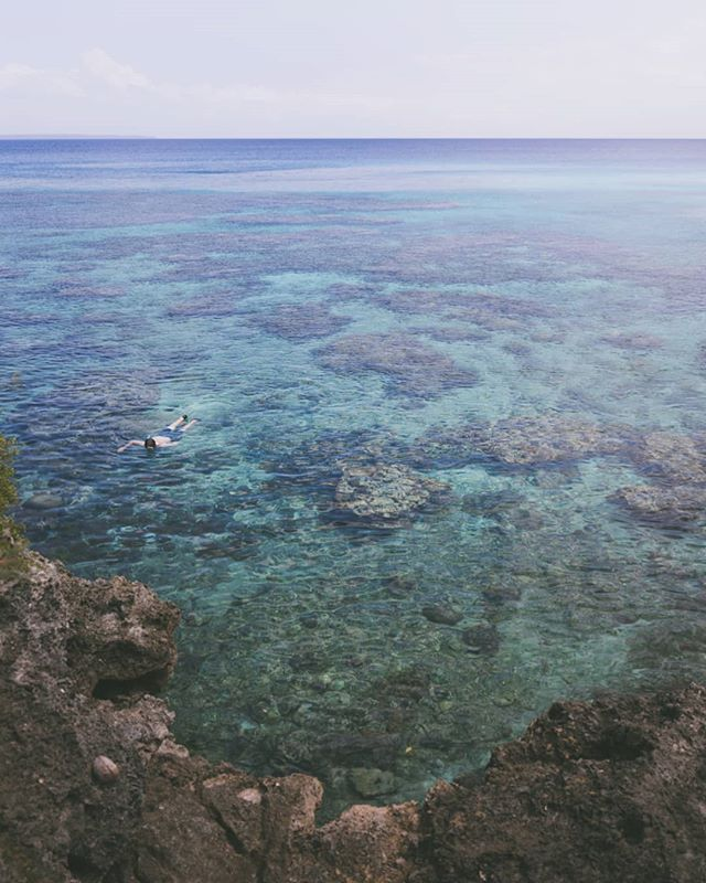 Crystal clear snorkeling waters in Lifou. Such a #beautiful island 🏝️🏝️🏝️ . . . . . #reef #pacific #snorkeling #ocean #landscape #Lifou #love #travel #canon #horizon #blue