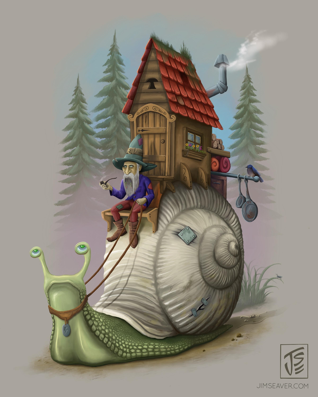 """""""Snail Rider"""""""