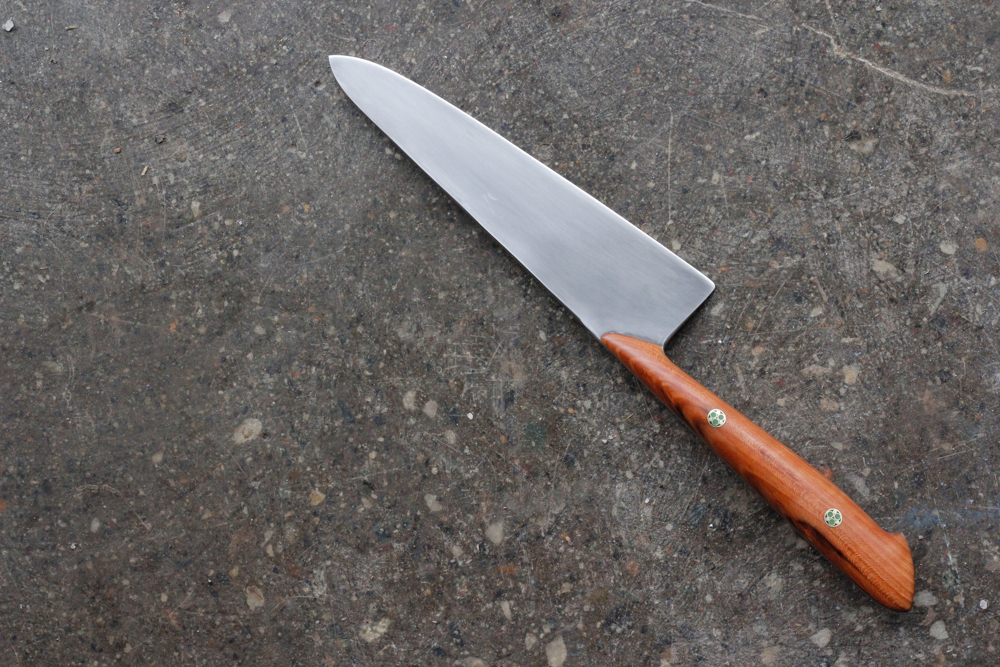 "6.5"" Cherry Petit Chef Knife. $500, SOLD."
