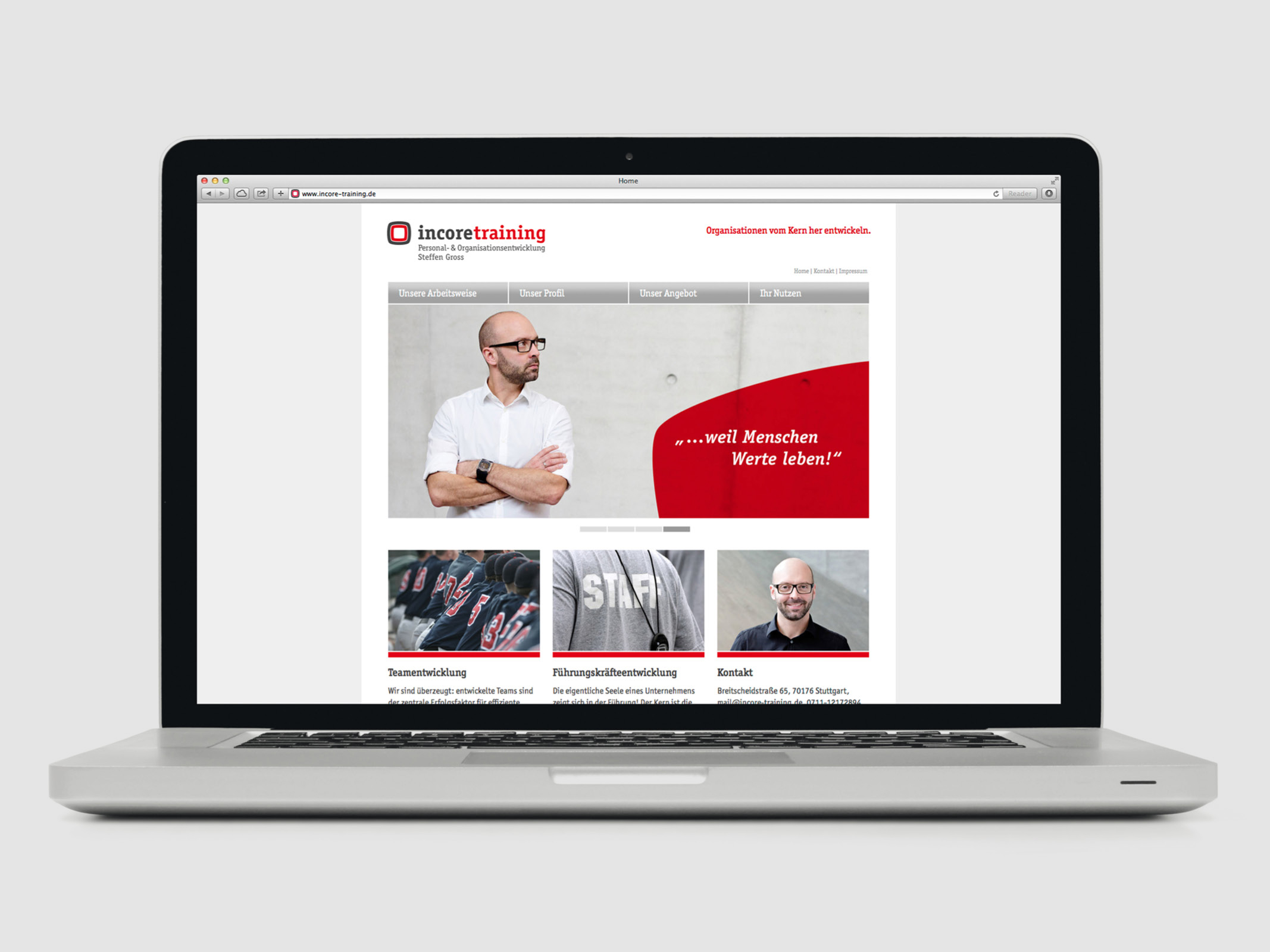 Webdesign  incore training