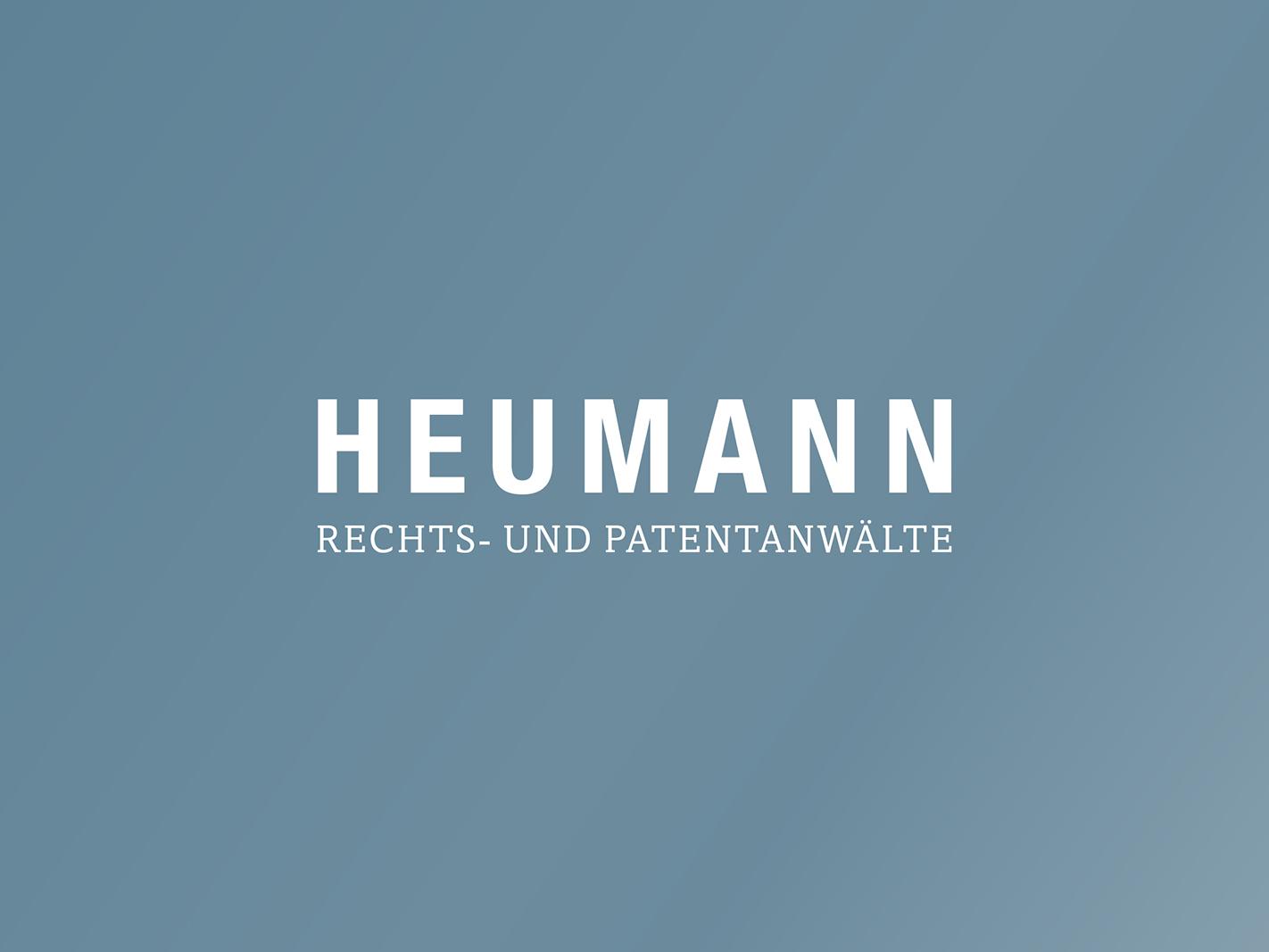 Corporate Design  Heumann / Rechts- und Patentanwälte