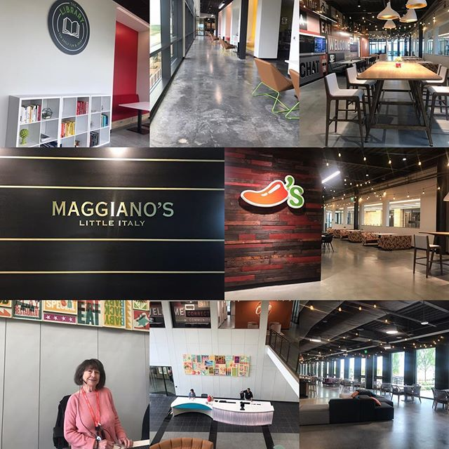 IMI Agency Account Manager, Melissa Kelley and Director of Account Management, Patrick McGinn facilitated the bi-annual supplier meetings at Brinker International last week. The Chili's and Maggiano's corporate offices recently moved into a newly built progressive office building which inspires innovation at every corner! Check-out the photos for a peek inside! #imiagency