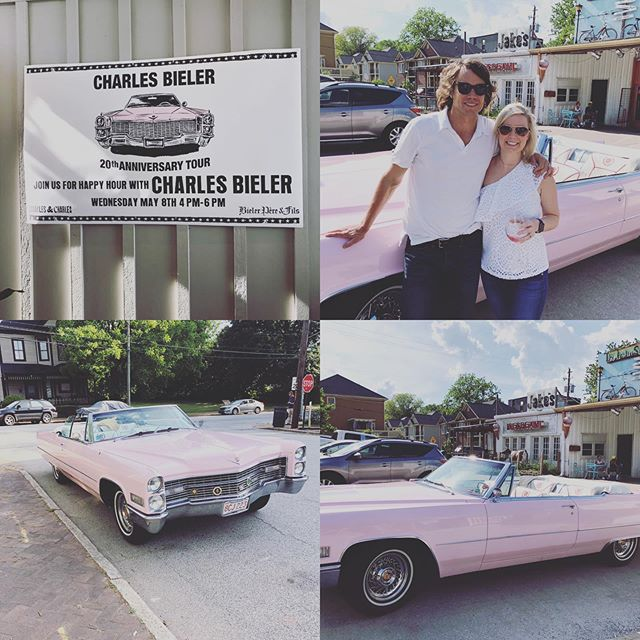 Yesterday Amanda Miles attended Charles Bieler Wines' 20th Anniversary Rosé Road Trip Tour in Atlanta! It was a great afternoon celebrating with Trinchero Family Estates! #imiagency #roseroadtrip #bieler20 #charlesandcharleswine #tfewines