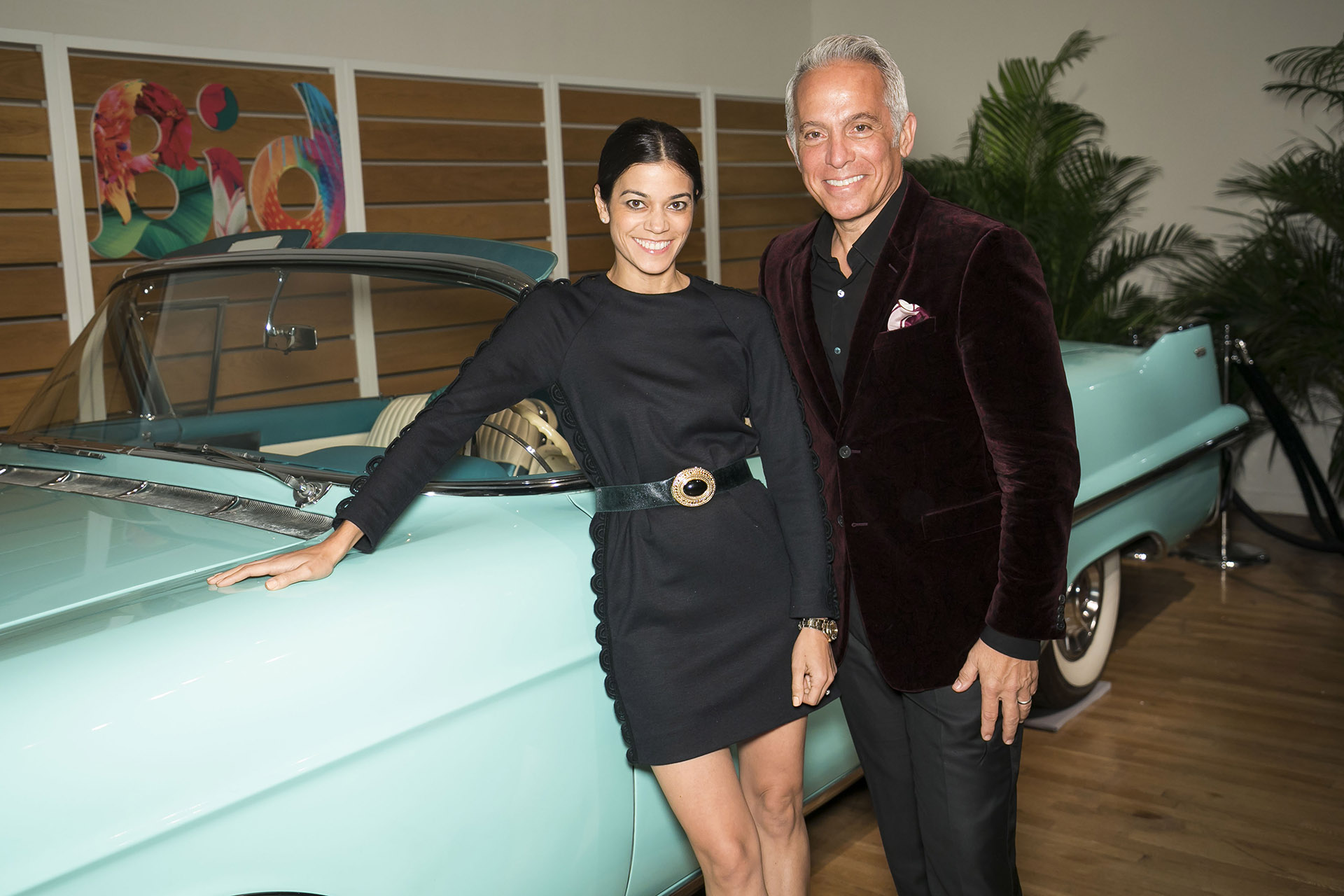 Margaret and Geoffrey Zakarian