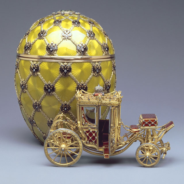 Coronation Egg 1897  Image courtesy of The Forbes Collection