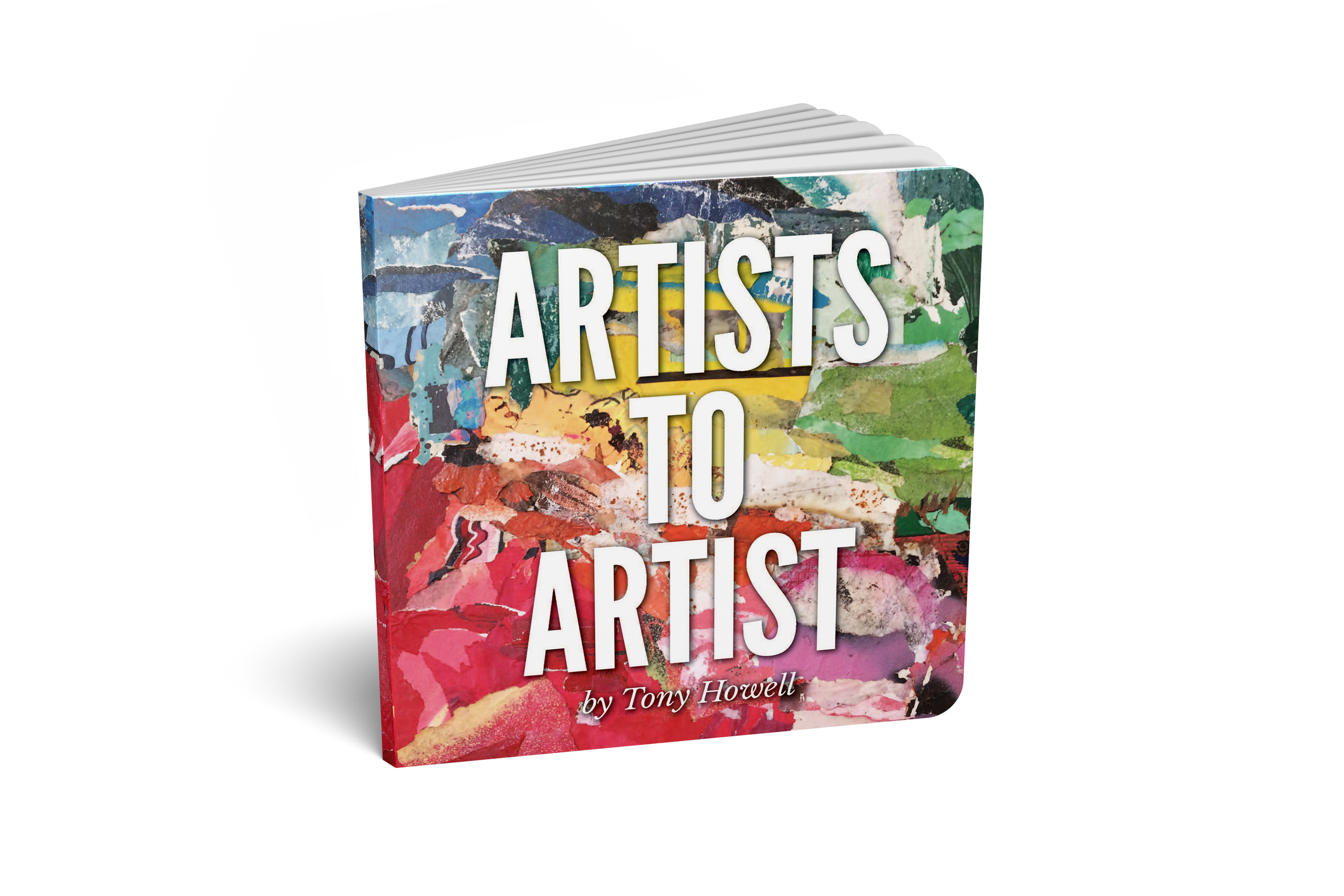 Books - 100% of profits from Tony's first book, Artists to Artist, support the ACLU. Tony is currently writing a series of four books based off his six-year client methodology. In the meantime, get his list of recommended reads!