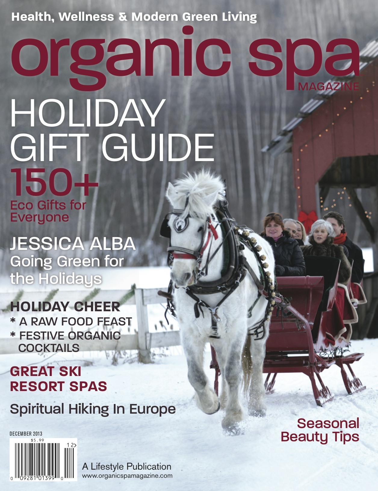 D&A / November/December 2013,Organic Spa Magazine