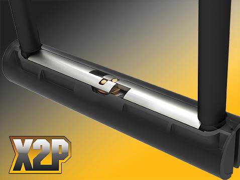 X2P - Double bolt locking