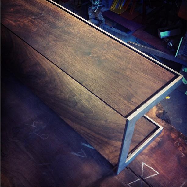 Suspended Coffee Table Prototype