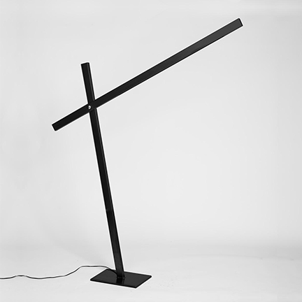 cantilevered floor lamp