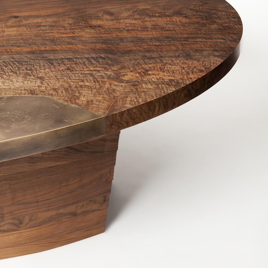 Cast Bronze Pangea Dining Table