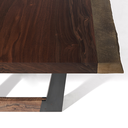 cast bronze dining table