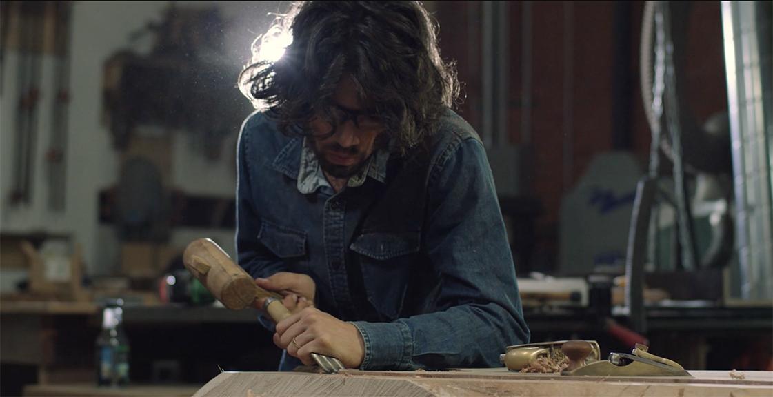 Hand Chiseling Wood