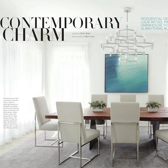 Press / contemporary charm