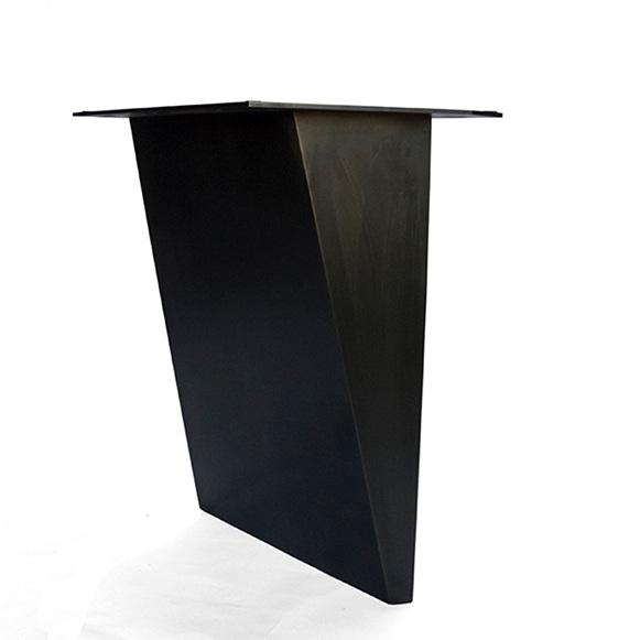 furniture / folded steel base