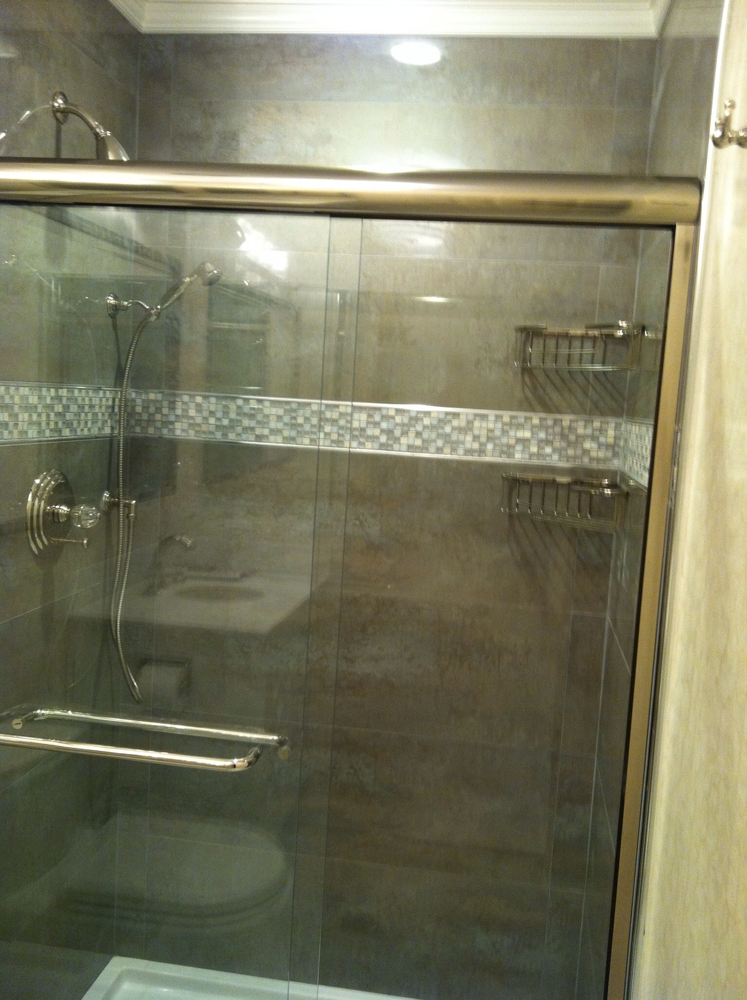 Custom Shower.