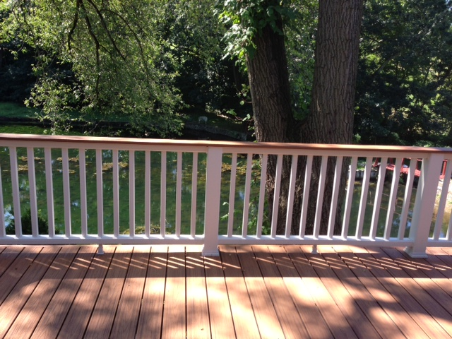 Custom deck work.