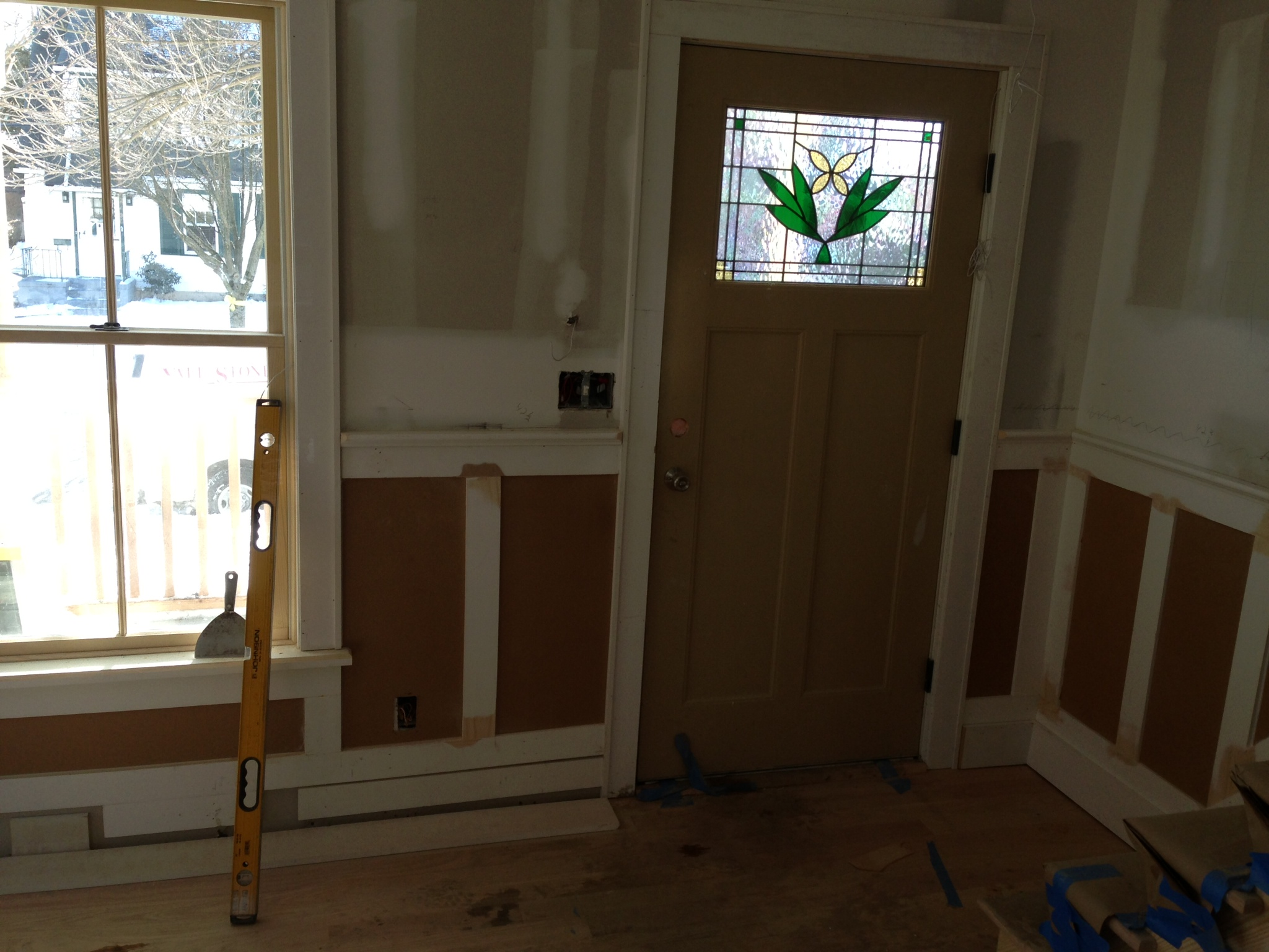 Custom doorway.