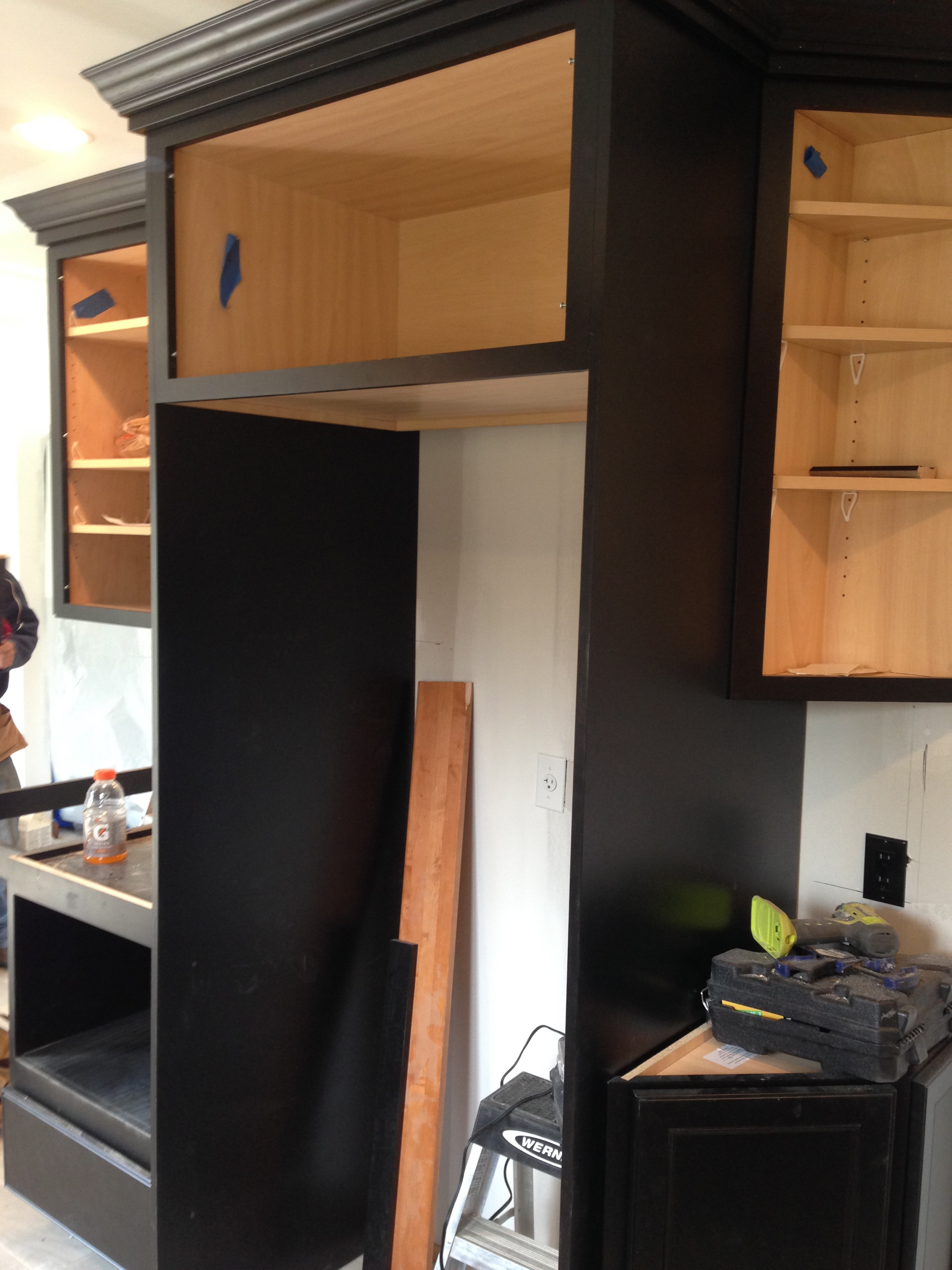Refrigerator Framing.