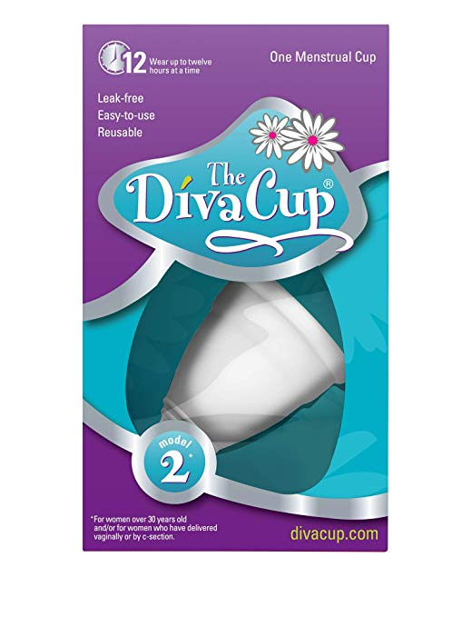 Diva Cup: I am a newly minted Diva Cup user. While there is a bit of a learning curve the first go-around, once you have the hang of it, you won't be using anything else. It's also much better for the environment and our bodies.