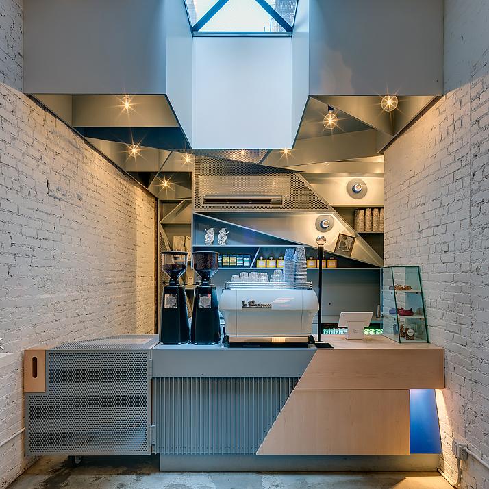 Happy Bones Coffee Shop, NY
