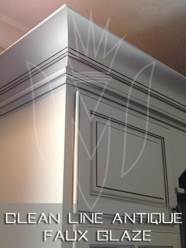 Clean Line Antique Faux Glaze