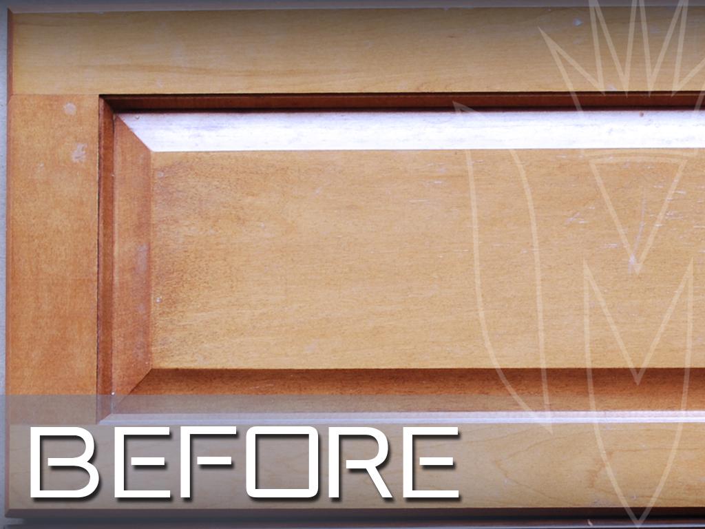 CR Cabinet Refinishing Maple Door Close Up Before.jpg