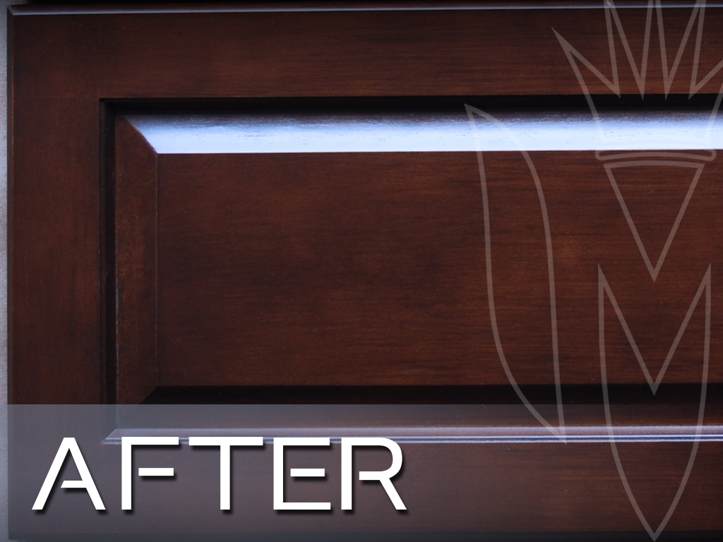 CR Cabinet Refinishing Maple Door close up after toner.jpg