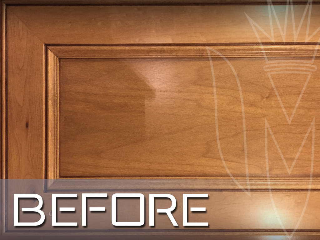 CR Cabinet Faux Finishing Maple before.jpg
