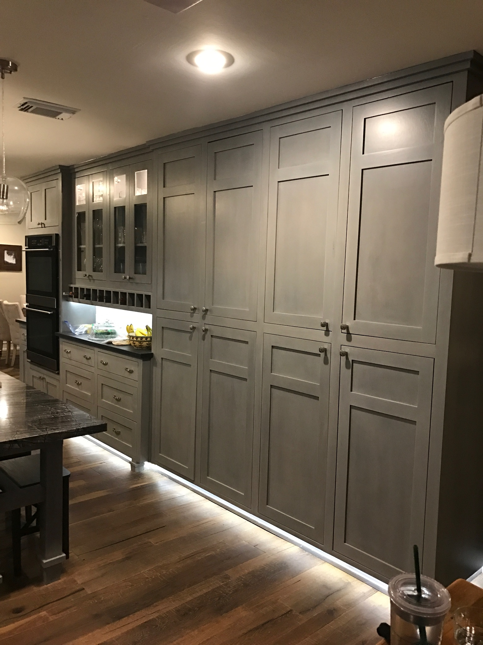 Professional Cabinet Finisher Custom Stain Or Custom Paint New Cabinet Finishing Services Magnifico Cabrehab Finish Refinish Remodel