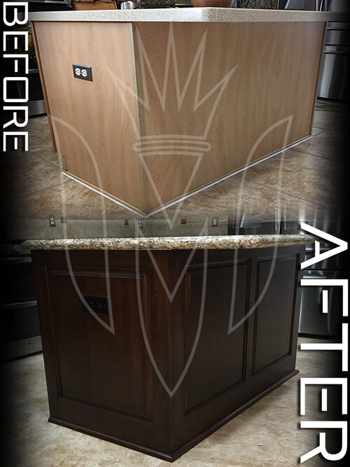 Upgrade your island… - Install Custom Raised Panels